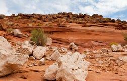 De Vormingen van de rots van het Zuidwesten van de Woestijn stock fotografie