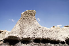 De vormingen van de rots in woestijn royalty-vrije stock afbeeldingen