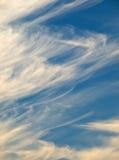 De Vormingen van de wolk Stock Foto