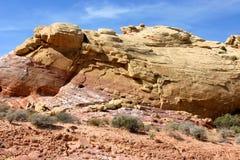 De Vormingen van rotsen Stock Foto