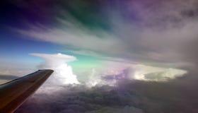 De vormingen van wolken Stock Foto's
