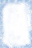 De vorst grunge achtergrond van de winter Royalty-vrije Stock Fotografie