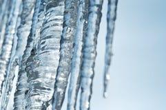 De vorstachtergrond van het ijs Royalty-vrije Stock Foto's
