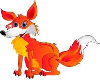 De vos van het beeldverhaal royalty-vrije illustratie