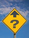 De Vraag van de richting Royalty-vrije Stock Fotografie