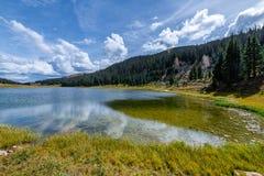 De vraag van Rocky Mountain National Park royalty-vrije stock fotografie