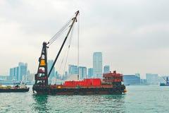 De vrachtboot Royalty-vrije Stock Afbeelding