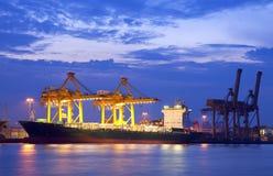 De vrachtschip van de Lading van de container royalty-vrije stock fotografie
