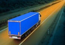 De vrachtwagen Royalty-vrije Stock Afbeeldingen