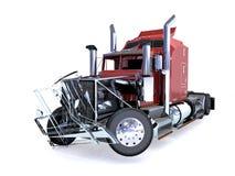 De vrachtwagen van Brokenned stock illustratie