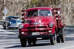 1955 de Vrachtwagen van Chevrolet C1100 TrayTop Stock Afbeelding