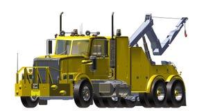 De Vrachtwagen van de analyse Stock Afbeelding