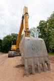 De Vrachtwagen van de bouw Royalty-vrije Stock Foto