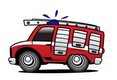 De vrachtwagen van de brand royalty-vrije illustratie
