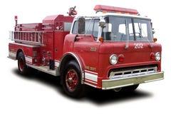 De Vrachtwagen van de brand Stock Afbeeldingen