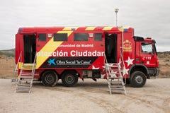 De vrachtwagen van de brand Royalty-vrije Stock Afbeelding