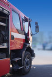 De vrachtwagen van de brandbestrijder Royalty-vrije Stock Foto