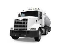 De vrachtwagen van de brandstoftanker Stock Foto