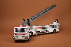 De Vrachtwagen van de Brandweerladder Royalty-vrije Stock Foto's