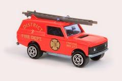 De Vrachtwagen van de Brandweerladder Stock Afbeelding