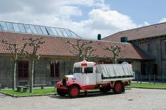 De vrachtwagen van de brouwerij stock foto