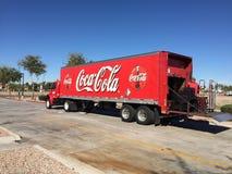 De Vrachtwagen van de coca-cola Stock Afbeelding