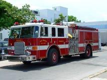De vrachtwagen van de de brandbrigade van Key West Stock Fotografie