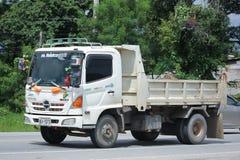 De Vrachtwagen van de Hinostortplaats van Chiangmai-Poolsterbedrijf Royalty-vrije Stock Afbeelding