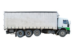 De Vrachtwagen van de lading Stock Fotografie