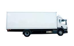 De Vrachtwagen van de lading Stock Afbeeldingen