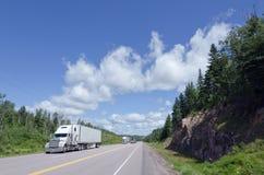 De vrachtwagen van de lading Royalty-vrije Stock Afbeelding