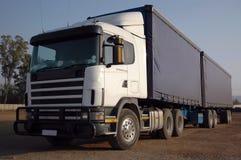 De Vrachtwagen van de lading Royalty-vrije Stock Afbeeldingen