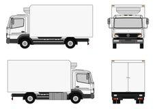 De vrachtwagen van de levering Royalty-vrije Stock Afbeelding