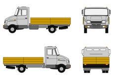 De vrachtwagen van de levering Stock Foto's