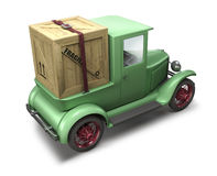 De vrachtwagen van de levering vector illustratie