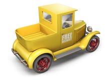 De vrachtwagen van de levering royalty-vrije illustratie
