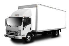De Vrachtwagen van de levering stock afbeelding