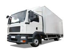 De vrachtwagen van de levering Stock Afbeeldingen
