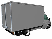 De Vrachtwagen van de levering Royalty-vrije Stock Afbeeldingen