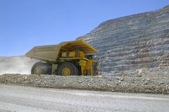 De vrachtwagen van de mijnbouw Stock Afbeelding