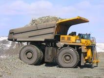 De vrachtwagen van de mijnbouw royalty-vrije stock fotografie