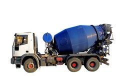 De Vrachtwagen van de Mixer van het cement Stock Afbeeldingen