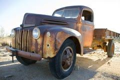 De vrachtwagen van de oud-tijdopnemer Stock Afbeelding
