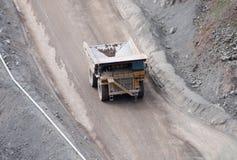 De Vrachtwagen van de steengroeve Stock Fotografie