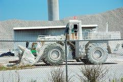 De Vrachtwagen van de Steengroeve van het kalksteen stock foto's