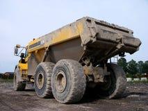 De Vrachtwagen van de stortplaats Stock Foto