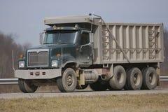 De Vrachtwagen van de stortplaats royalty-vrije stock foto's