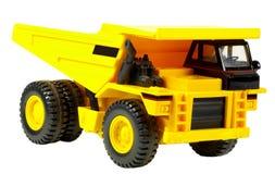 De Vrachtwagen van de Stortplaats van het stuk speelgoed Stock Foto