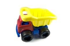 De Vrachtwagen van de Stortplaats van het stuk speelgoed Stock Afbeelding