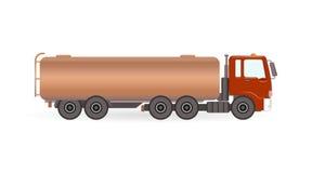 De vrachtwagen van de tankbrandstof Royalty-vrije Stock Foto's